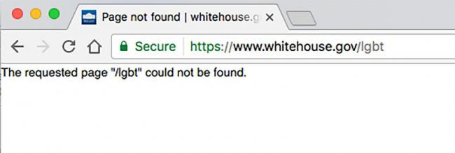 white house page lgbt