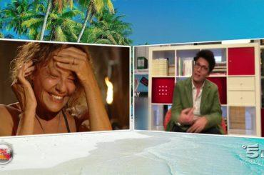 Isola, il saluto di Imma Battaglia ad Eva Grimaldi – video