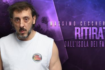 Isola, Massimo Ceccherini si ritira – televoto annullato
