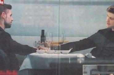 Roberto Bolle, cena intima con un uomo misterioso