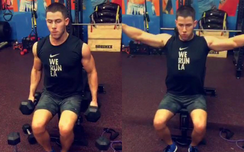 Nick-Jonas-Gym-Workout-2