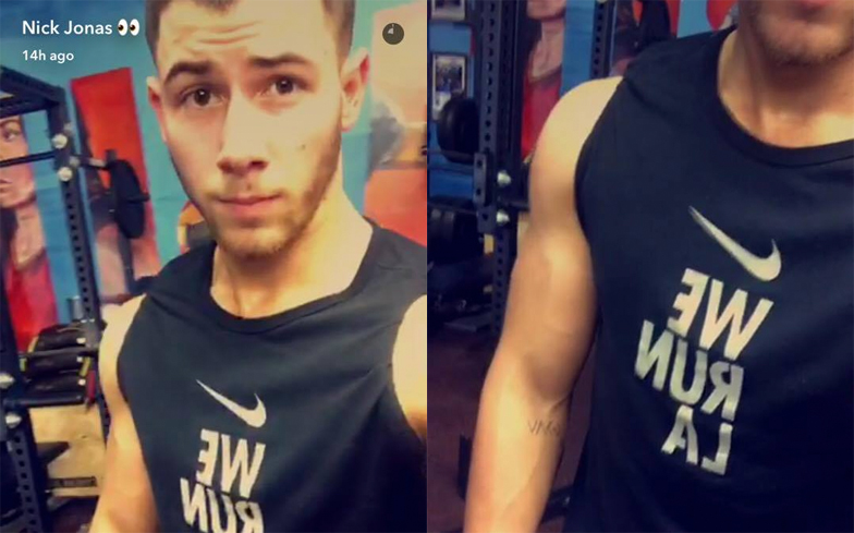 Nick-Jonas-Gym-Workout