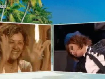 Isola, Eva Grimaldi tra coming out e outing con Vladimir Luxuria che la incita a salutare Imma Battaglia