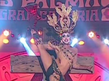 Gran Canaria, spettacolare drag show dal carlevale LGBT di Las Palmas – video