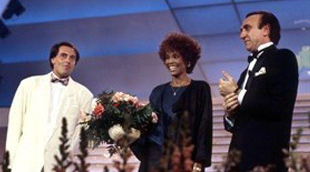 Whitney-Houston-Sanremo-1987@Olycom