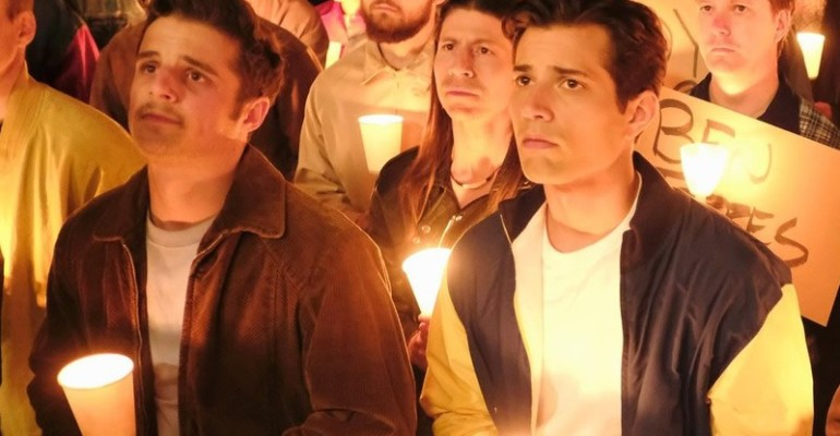 """When We Rise,  """"I'd Love to Change the World"""" di  Jordan Fisher  per la miniserie di Dustin Lance Black – il video musicale"""