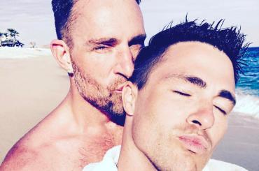 Colton Haynes sposa Jeff Leatham, l'annuncio ufficiale Instagram