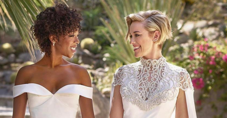 Samira Wiley di Orange Is The New Black ha sposato Lauren Morelli  – foto