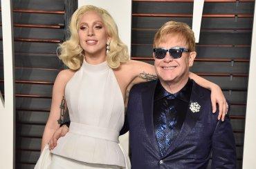 E' nata una Stella, Elton John ha scritto una nuova canzone per Lady Gaga