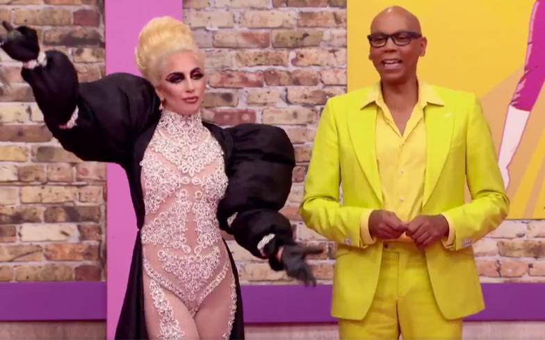 lady-gaga-rupaul-drag-race