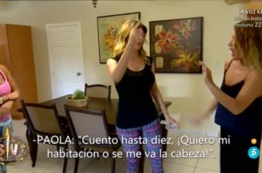 Isola dei Famosi Spagna, Paola Caruso sbrocca subito a Supervivientes