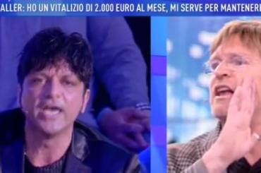 Domenica Live, è rissa trash tra Filịppo Fạcci e L'Avvọcato di Ilonạ Staller – video