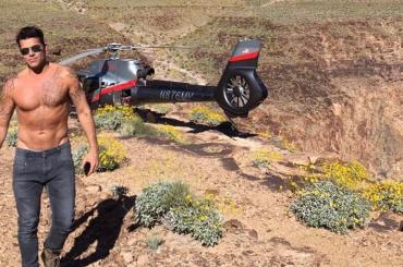 Ricky Martin gnocco nel Grand Canyon – foto
