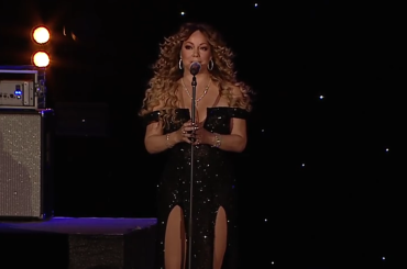 Mariah Carey omaggia George Michael con ONE MORE TRY, il live – video