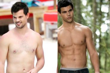 Taylor Lautner in costume, che fine hanno fatto i muscoli di Twilight?