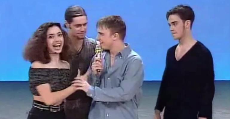 27 aprile 1994, è delirio Take That a Non è la Rai – il video