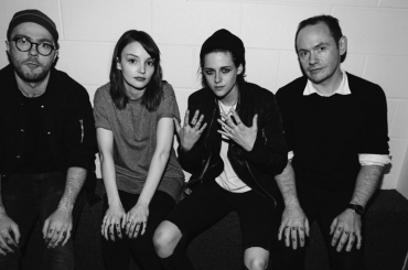 CHVRCHES live con Down Side Of Me, il nuovo video diretto da Kristen Stewart