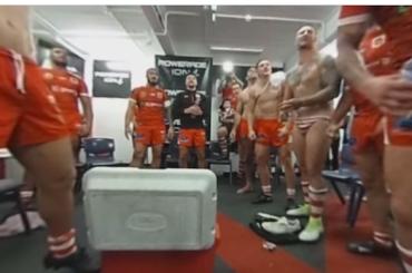 Rugby, telecamera a 360° negli spogliatoi – il video