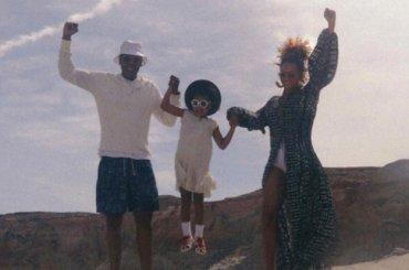 Beyoncé, Jay-Z e Blue Ivy, foto di famiglia dal Grand Canyon