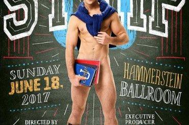Broadway Bares 2017, attori nudi per raccogliere fondi contro l'HIV/AIDS – promo e poster
