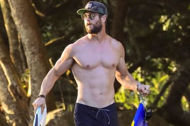 Chris Hemsworth, Thor in costume in Australia – foto