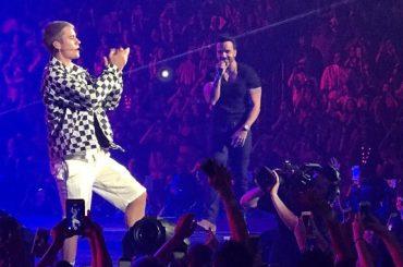 Justin Bieber, primo live di DESPACITO con Luis Fonsi  da Porto Rico – video