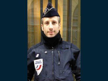 Parigi, matrimonio postumo per il poliziotto ucciso sugli Champs-Elysées e il suo compagno