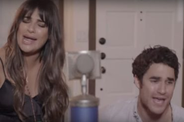 Reunion Glee, Lea Michele canta con Darren Criss – i video