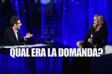 Fabio Fazio e David LaChapelle stroncano Madonna a Che Tempo che Fa – video
