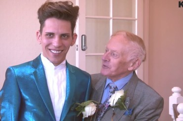 Reverendo 78enne sposa modello di 24 anni – il video della cerimonia