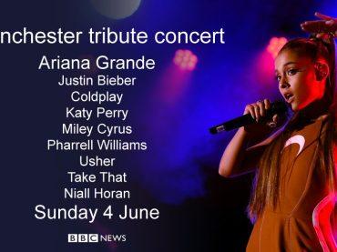 Manchester, concerto benefico pieno di star per replicare al terrorismo