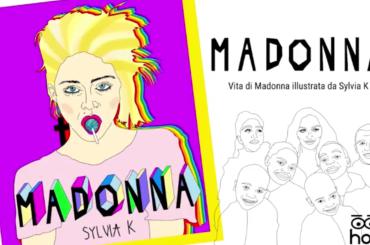 Madonna, arriva la biografia illustrata di Sylvia K targata HOP! – foto