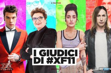X-Factor 11 – Fedez,  Manuel Agnelli, Mara Maionchi e Levante giudici – il video annuncio