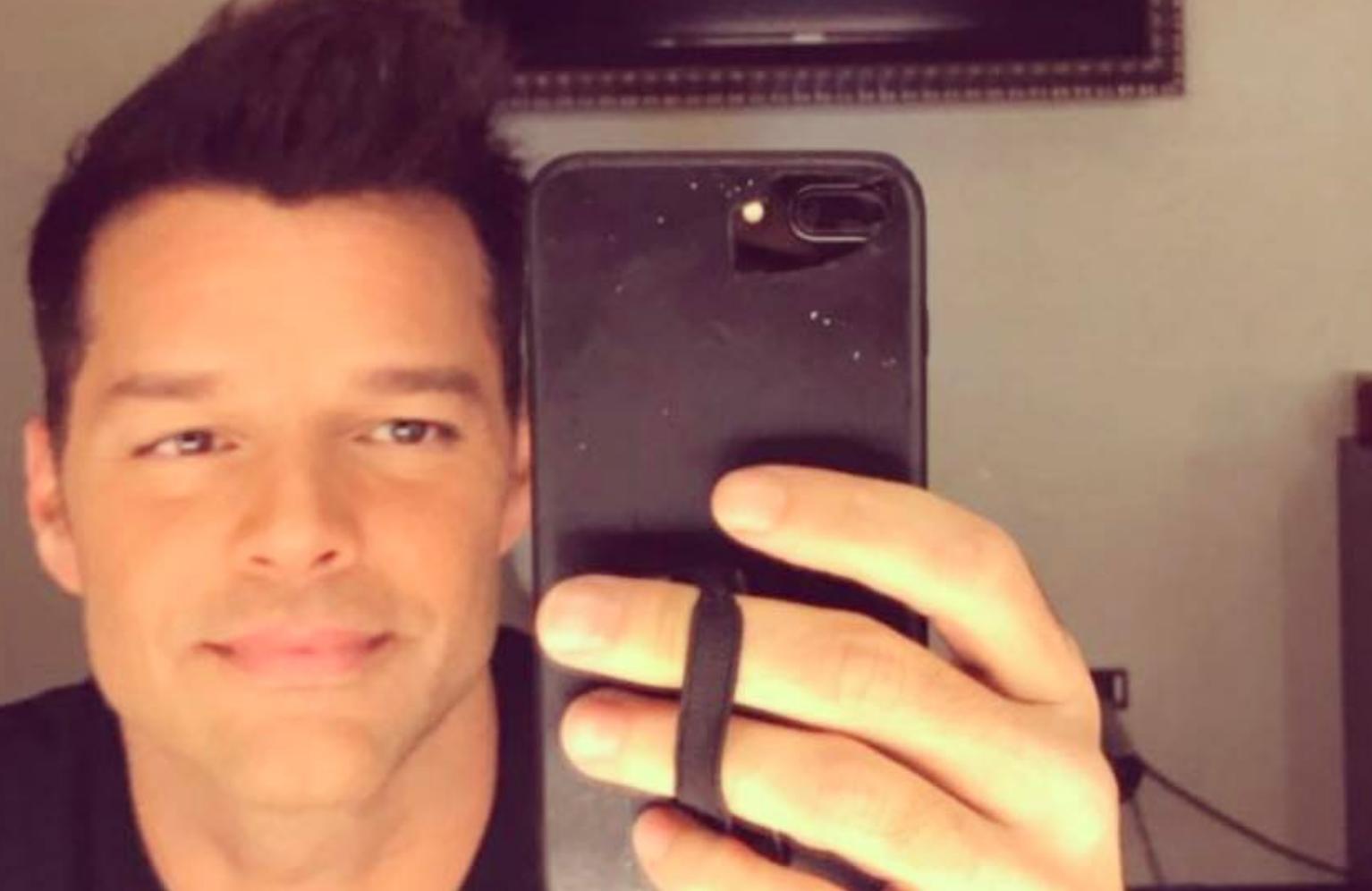 Ricky Martin posta foto no Instagram e preocupa os fãs - O