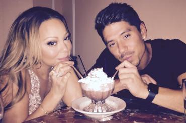 Mariah Carey torna in studio di registrazione (e fa pace  con il toy boy Bryan Tanaka) – foto