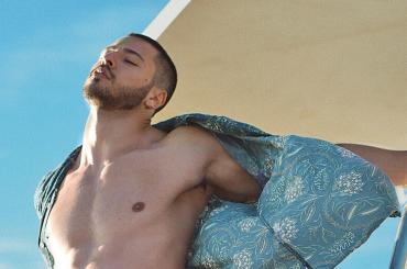 Giuseppe Giofrè, è pacco Instagram dalla California – foto