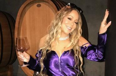 Mariah Carey 'mbriaca Instagram – foto