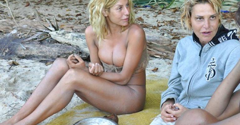 Simona Ventura ospite dell'Isola dei Famosi spagnola per supportare Paola Caruso
