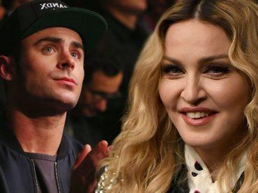 Zac Efron e i rumor su Madonna: 'lei è attraente, fantastica, non posso confermare e/o negare che non ci abbia provato'