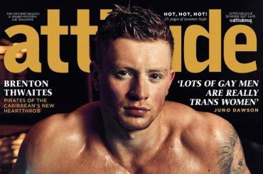 Adam Peaty, il nuotatore olimpico inglese da sturbo su Attitude – foto