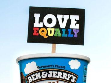 Ben & Jerry's, vietati due gelati dello stesso gusto per rimarcare l'assurdità del NO al matrimonio egualitario in Australia