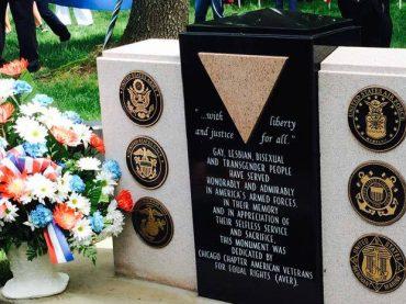 Chicago, inaugurato il primo monumento ai soldati LGBT