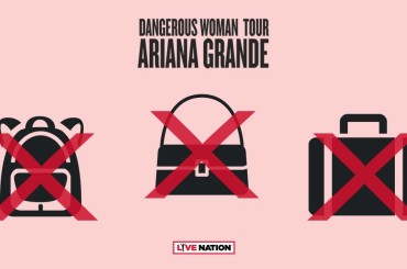 Ariana Grande in Italia, niente zaini e borse (trasparenti) solo per donne – è polemica