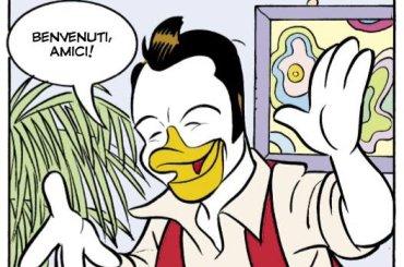 Tiziano Ferro 'paperinizzato' diventa un personaggio di Topolino, la copertina