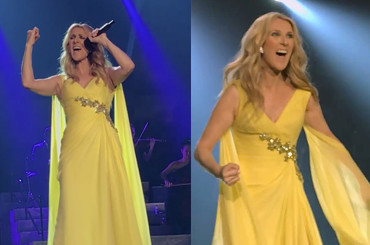 Celine Dion, pazzesca All By Myself da Las Vegas – video