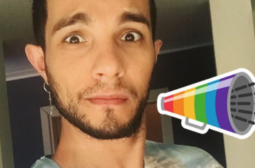 Marco Carta, sticker rainbow e fisichetto Instagram – foto