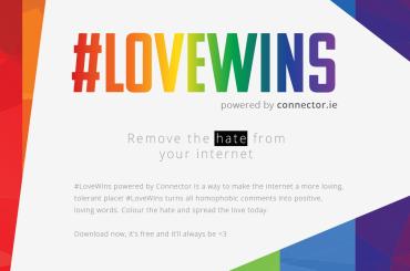 Love Wins,  arriva l'estensione Google Chrome che sostituisce gli insulti omofobi con parole arcobaleno
