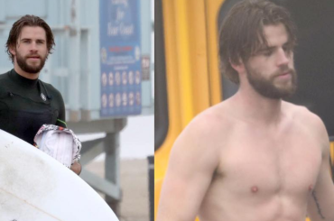Liam Hemsworth, strip in spiaggia – foto