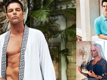 The Assassination of Gianni Versace: American Crime Story, le foto ufficiali EW con Ricky Martin in mutande