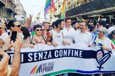Milano Pride, un trionfo arcobaleno – c'è anche il Sindaco Beppe Sala